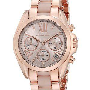 Michael Kors MK6066 Bradshaw Rose Gold-Tone Watch